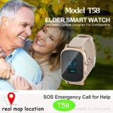 2016 GPS Tracker Montre pour adultes avec WiFi Position (T58)