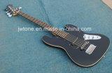 Зашнуруйте через гитару Jag Pi шнура тела 5 электрическую басовую