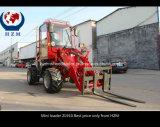 Zl910 Mini Mini carregadora de rodas da pá carregadeira agrícola venda quente na Europa