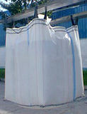 Weiße pp. Jumbo Bag mit Double Warp
