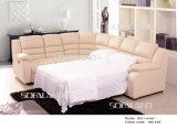 Base di sofà d'angolo di cuoio moderna 801#