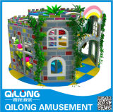 Bom projeto do campo de jogos interno das crianças do castelo (QL-150417B)