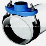 Седловина для утюга трубы PVC дуктильного
