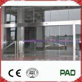 Portello scorrevole di vetro automatico di modo chiaro per l'entrata di piccole dimensioni della famiglia o del negozio