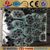 6061 tubos de aluminio/el aluminio del final de plata sacaron tubo