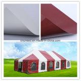 Tela incatramata Anti-UV del PVC per il tessuto ed il coperchio della tenda