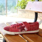 Ботинки холстины вулканизированное резиновый Outsole ботинок людей (SNC-02014)