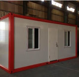 Conteneur Flat Pack Maison modulaire pour la construction du site