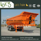 dos eixos 22cbm 2 do Tipper reboque Semi