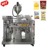 Saco Premade totalmente automática de pasta de curry Horizotal/Molho de soja/máquina de embalagem de maionese