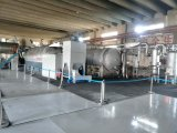 Équipement de distillation de pyrolyse pour les pneus usés