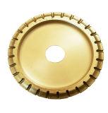 """7""""/150 мм верхней части качество алмазного шлифовального круга для профиля камня"""