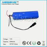 Defibrillator-medizinische Ausrüstung Lithium-Ionbatterie-Satz des Multi-Parametermonitor-ECG