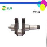 Jianghuai einzelne Zylinder-Dieselmotor-verwendete Kurbelwelle Zh1125