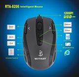 A função de teclado de um rato óptico (RTA-8206)