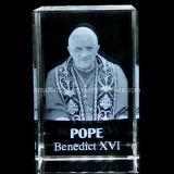 Papa del cristal 3D