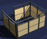 Cloisons coulissantes en verre coulissantes en bois meubles (SZ-WST777)