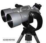 Uのブラケットおよび三脚が付いている20X40X100巨大な双眼鏡