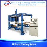 Robô da estaca do plasma do CNC para o feixe de H