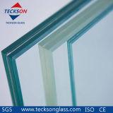 16,76 mm de vidro float laminado de segurança claras com a norma australiana AS/NZS2208