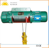Élévateur à chaînes électrique CD1 et MD1 de mode fixe de câble métallique d'élévateur d'élévateur électrique de construction, gerbeur pour l'atelier
