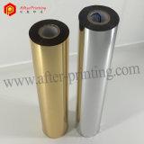Estampación en caliente de oro/plata para el papel de aluminio