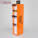 Rotation de la conception des verres de lunettes de soleil en acrylique de compteur de Rack Support d'affichage