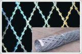 かみそりの有刺鉄線を囲う溶接されたかみそりワイヤー