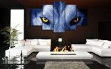 HD imprimió la lona Mc-016 del cuadro del cartel de la impresión de la decoración del taller de impresión de la lona de pintura del grupo de los ojos del lobo