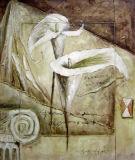 Peinture à l'huile abstraite 0108