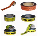 工場供給地下ケーブルの警告テープ注意テープ