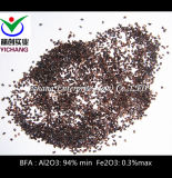 모래 분사를 위한 브라운 알루미늄 산화물