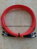 Cabos de correção de programa da fibra óptica de SMA 905