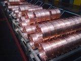 Alambre de soldadura hermético a los gases del CO2 de la alta calidad Er70s-6
