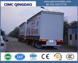 Cimc rimorchio personalizzato della Curtain Side Van Semi Truck
