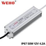 점화를 위한 LPV-50-12 50W 12V 4.2A LED 전력 공급