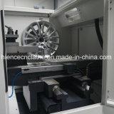 CNC van de Heropfrissing van de Rand van de Reparatie van het Wiel van de Legering van de Besnoeiing van de diamant de Machine Awr28hpc van de Draaibank