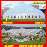 Алюминий ПВХ кривой палатку в рамке для открытия недвижимости 1200 человек местный гость