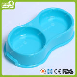 Forme ronde Double PP Pet Bowl