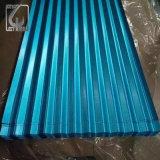 DC51D Az100 blauer Farbegalvalume-Stahlring für gewölbtes Blatt