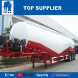 반 대륙간 탄도탄 차량 3 차축 디젤 엔진 및 공기 압축기를 가진 대량 시멘트 탱크 트레일러
