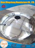 액화천연가스를 위한 고품질 스테인리스 타원형 접시에 담긴 헤드