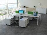New Modular Furniture Easy Assembling Aluminium Office Workstation Partition (HF-GK03)