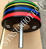 Qualitäts-Konkurrenz-Gummistoßplatte mit Farbe