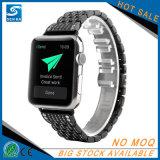 Edelstahl-Diamant-Uhrenarmband für Apple-Uhr