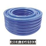 Plastique PVC flexible hydraulique de l'eau jardin Durit du tuyau d'irrigation (TG0102)
