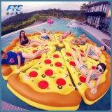 Рядок дешевого поплавка бассеина пиццы раздувного плавая