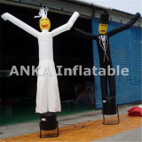 Danzatori gonfiabili dell'aria della Santa del singolo piedino su ordinazione con il ventilatore