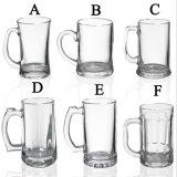 Oferta promocional de vidro cerveja personalizar uma caneca de cerveja de vidro copos de cerveja