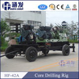 Super qualité! Bq, Nq, Hq, Pq Chaîne de forage filaire Hf-42A Core Drilling Machine